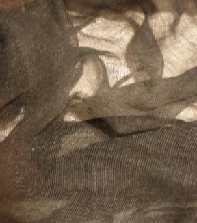 Black Cheesecloth Drape 2/' x 15/' Halloween Decoration