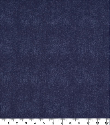 Wide Prints Fabric 108\u0022-Navy Texture