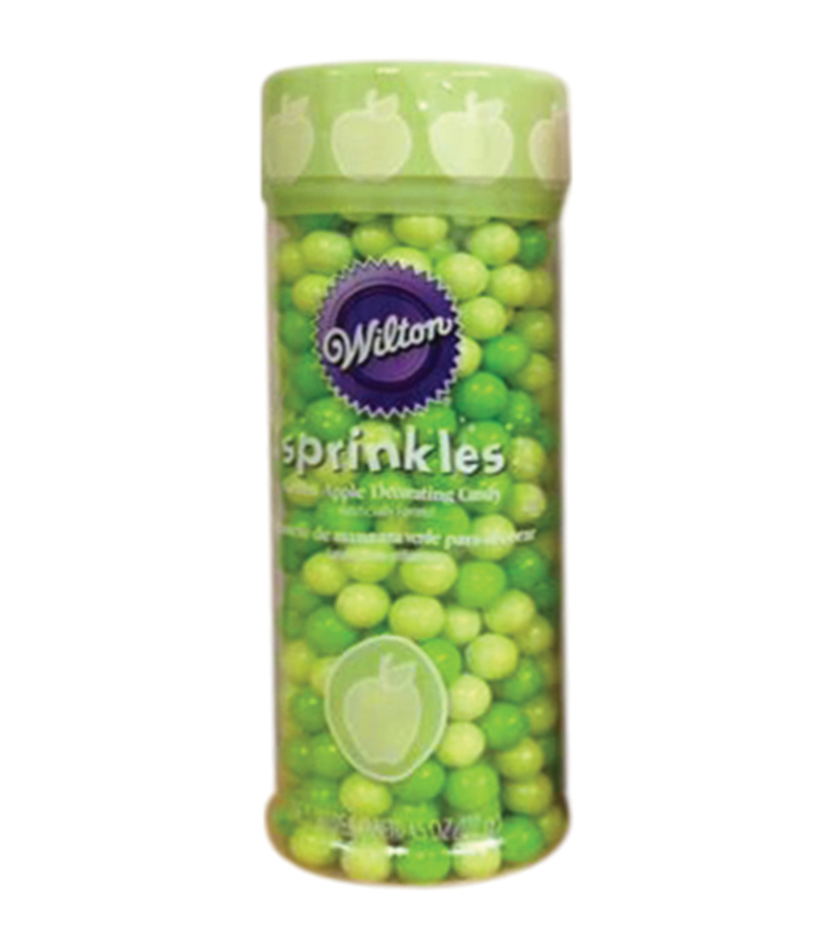 Wilton Sprinkles 4.5oz-Green Apple