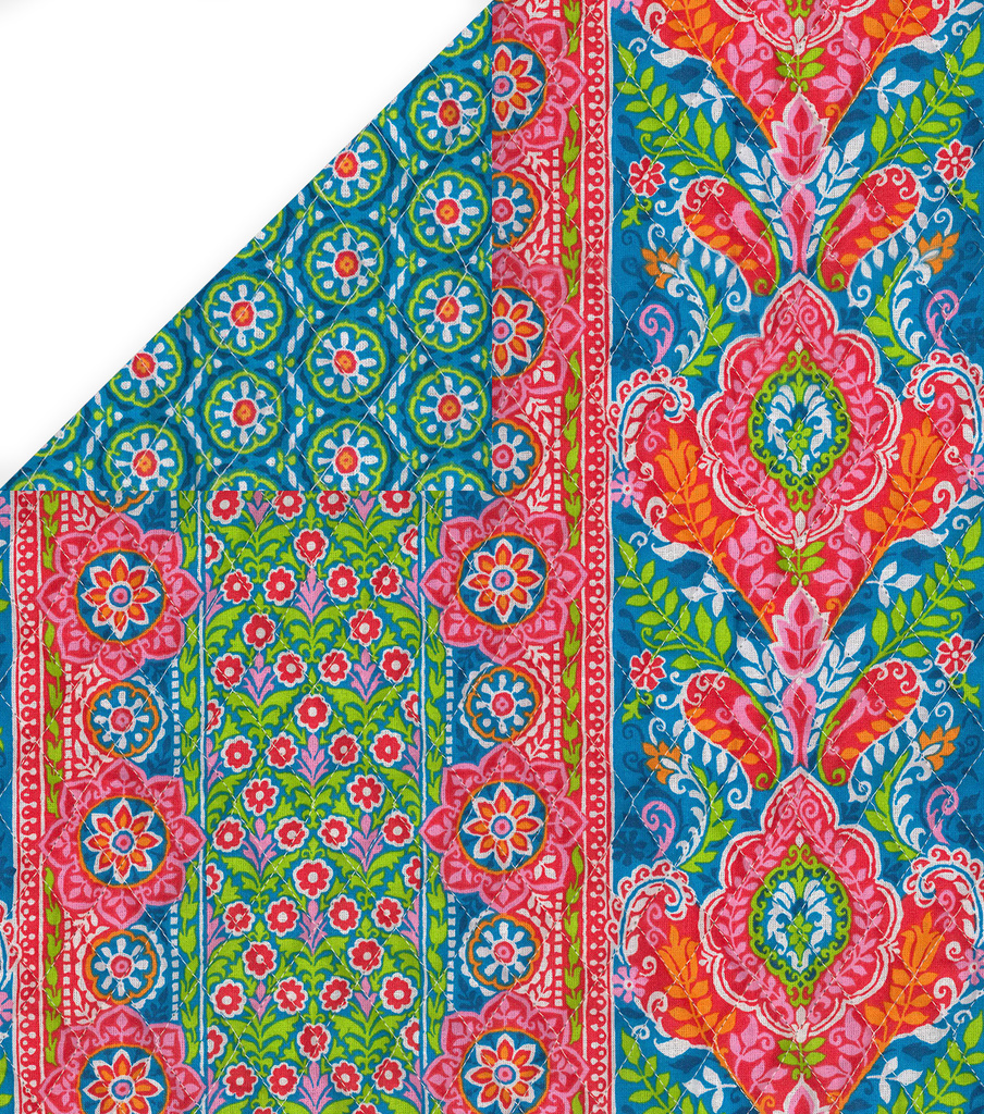 Speciality Cotton Fabric 43\u0022-Bright Floral