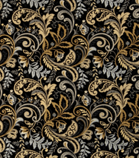 Home Decor 8\u0022x8\u0022 Fabric Swatch-SMC Designs Florence / Night