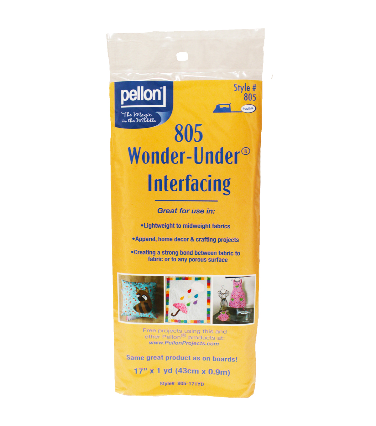 WONDER-UNDER Paper Backed Fusible Web by the yard