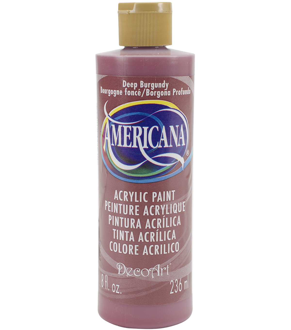 DecoArt Americana 8 fl. oz. Acrylic Paint, Deep Burgundy