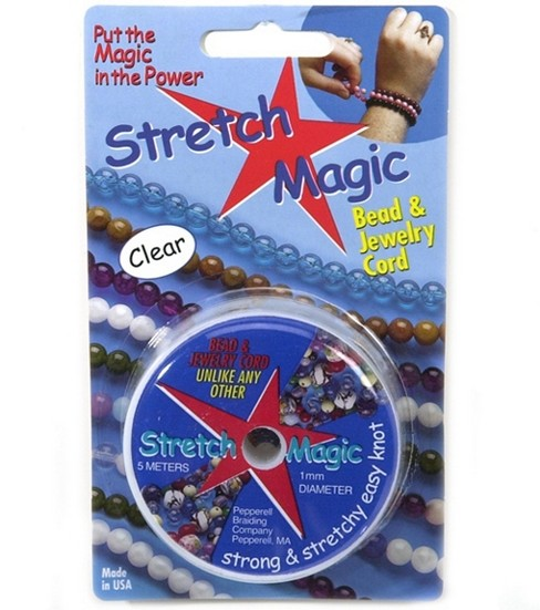 Stretch Magic .5mm Bead & Jewelry Cord-10 Meters , Clear