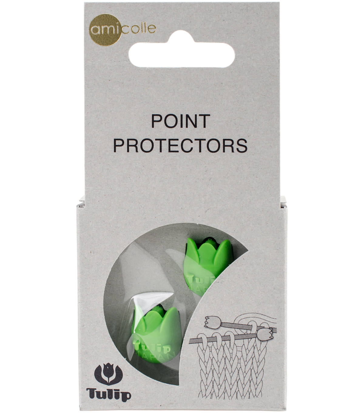 Tulip Point Protectors-Green/Small