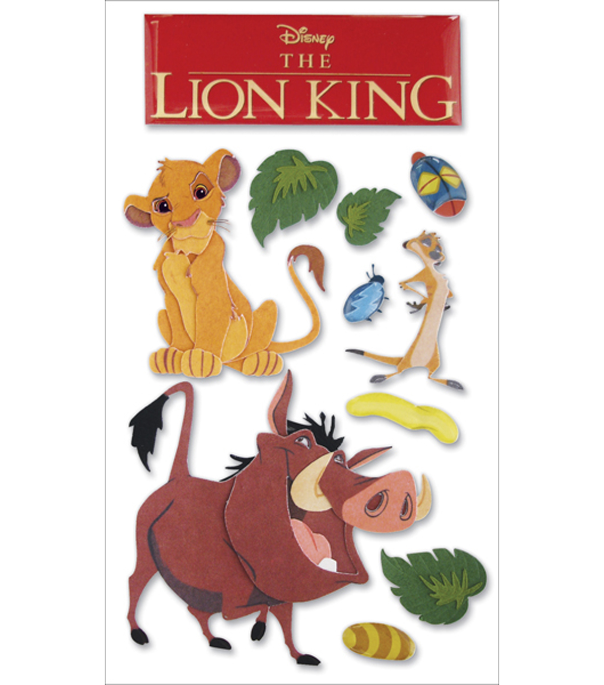 Disney Le Grande Stickers-The Lion King
