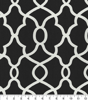 Kelly Ripa Home Multi-Purpose Decor Fabric 57\u0022-Clearly Cool Ebony