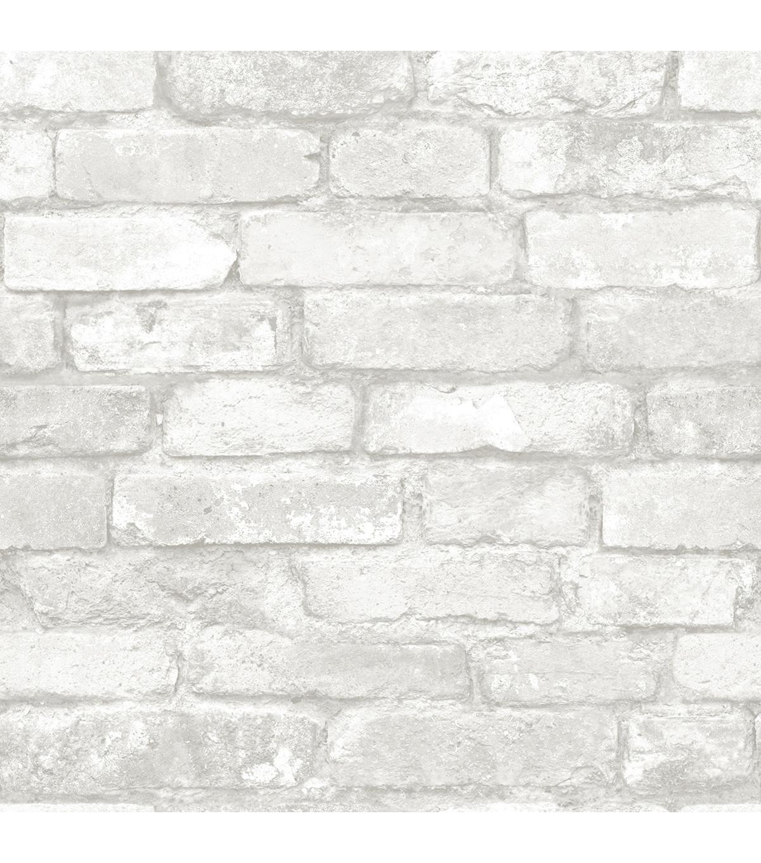White Brick Wallpaper Peel Stick Wallpaper Joann