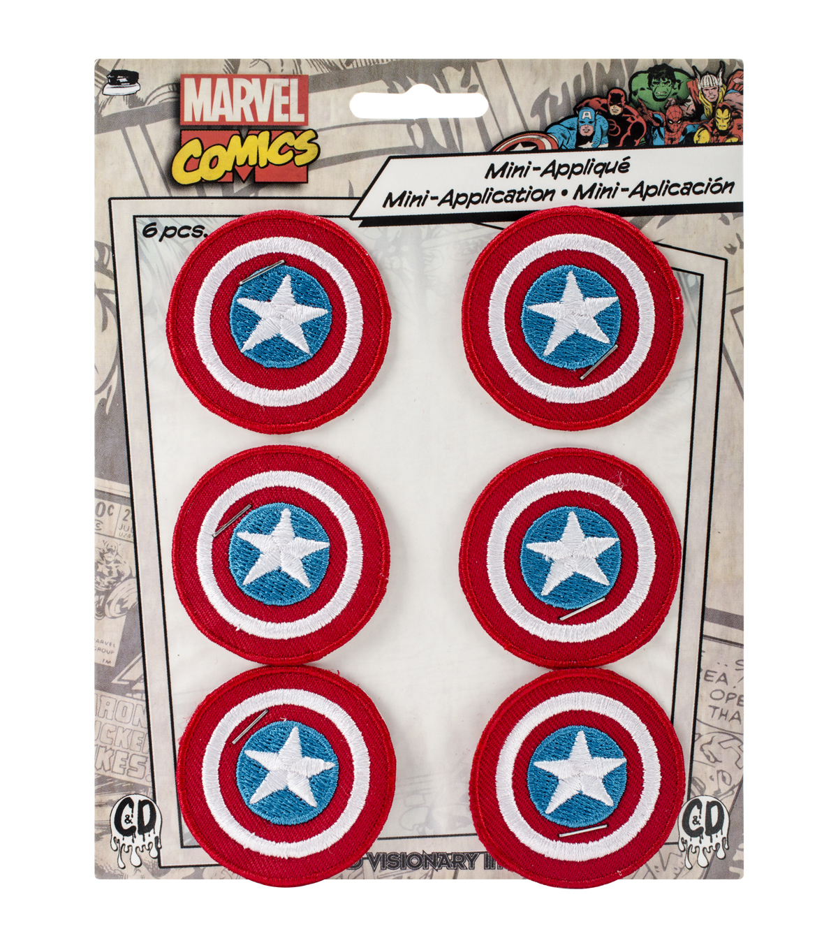 Marvel Comics Patch-Captain America