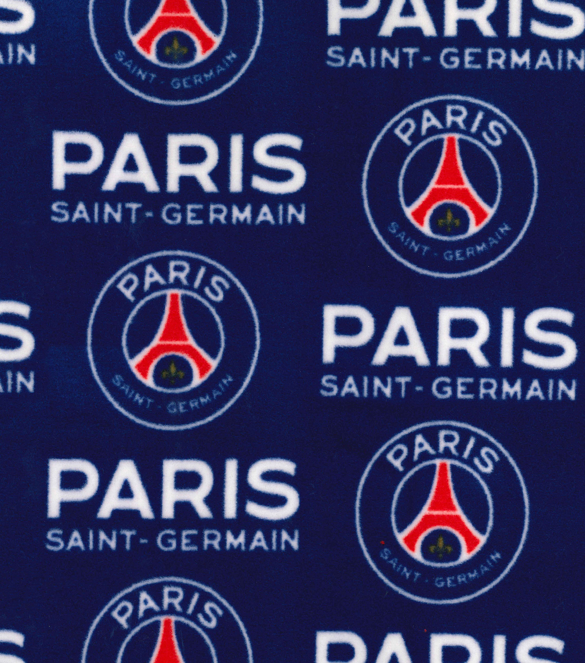 11d171bed4ff3 Paris Saint-Germain Football Club Fleece Fabric