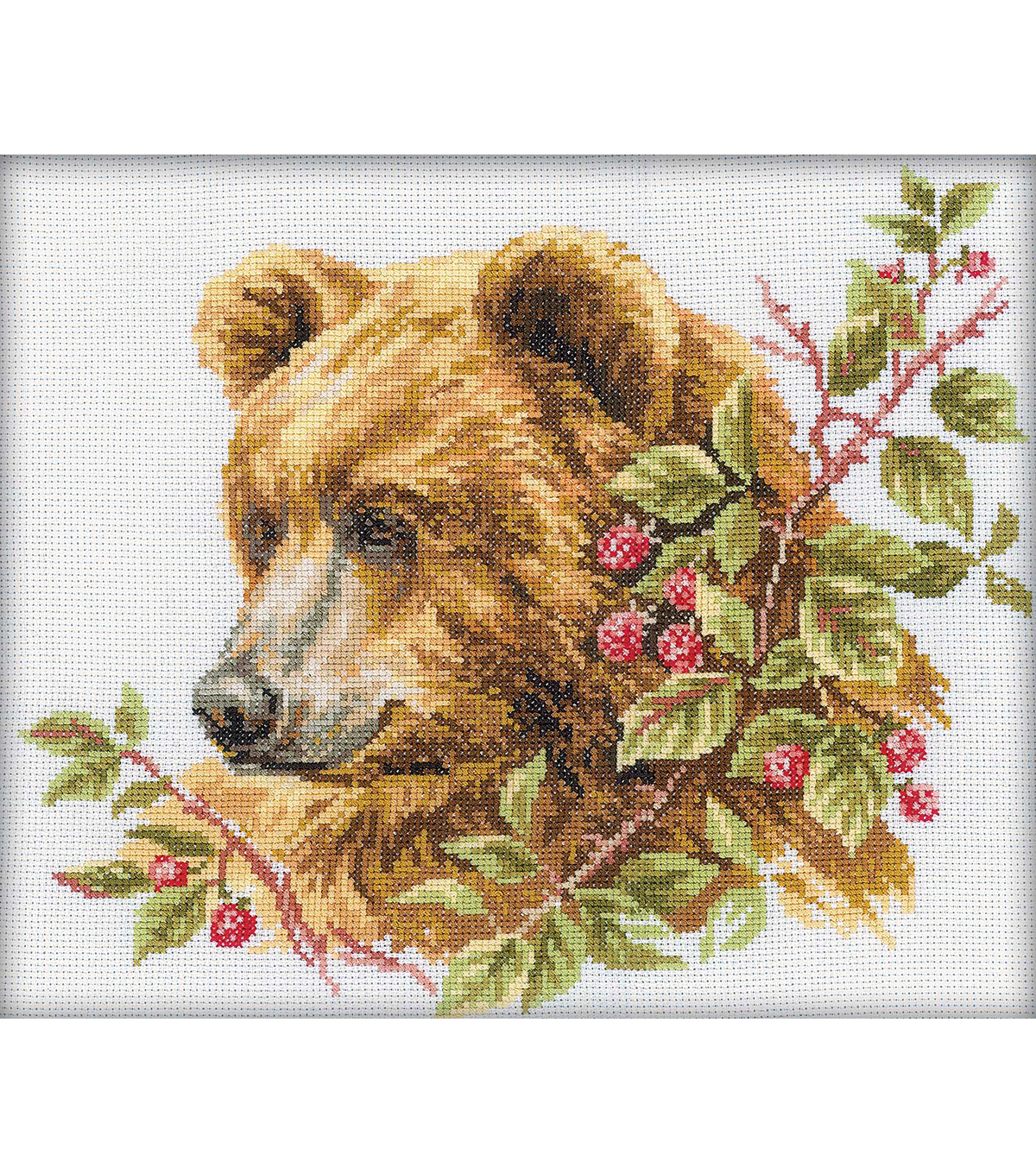 RTO Bear Counted Cross Stitch Kit