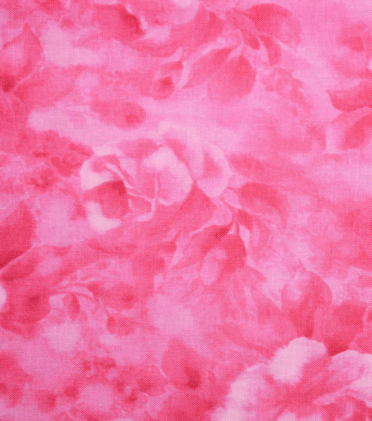 Premium Cotton Fabric -Pink Tonal Rose