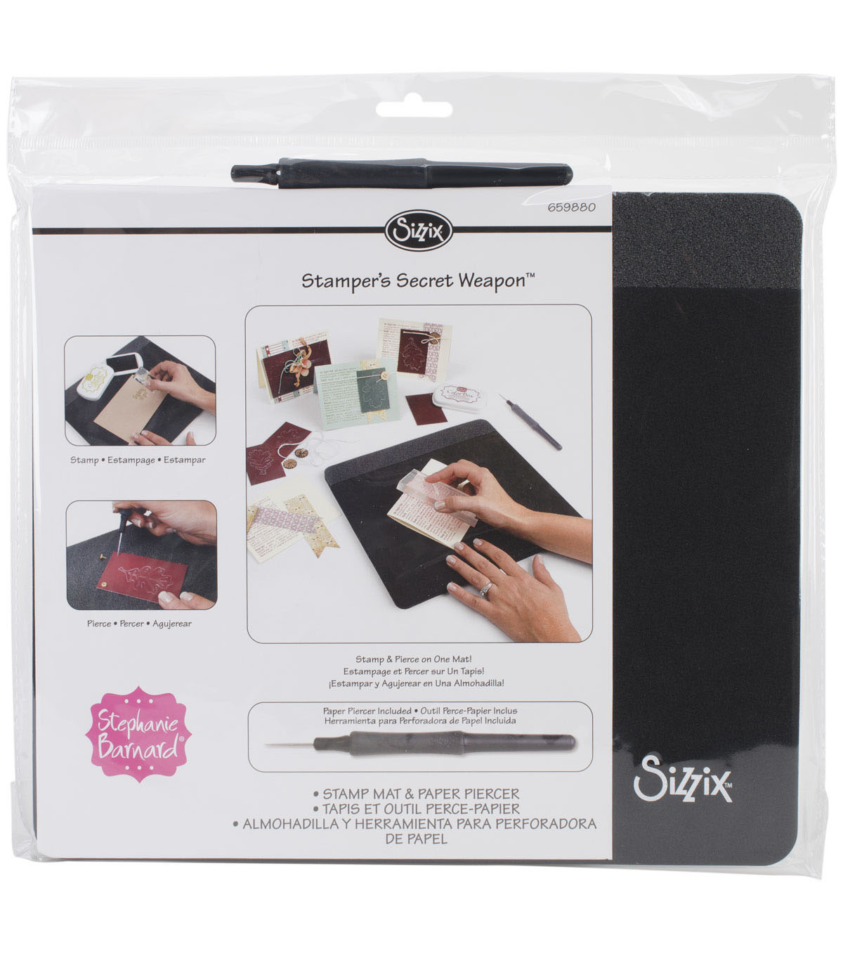 Sizzix Stamper\u0027s Secret Weapon 12\u0022X10.5\u0022X.5\u0022