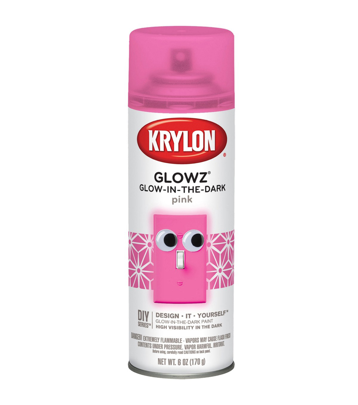 Krylon Glow-in-the-Dark 6 oz. Aerosol Spray