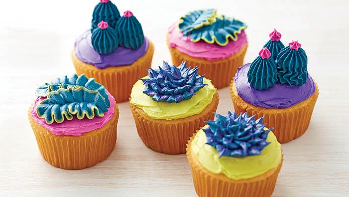 Sea Anenome Cupcakes
