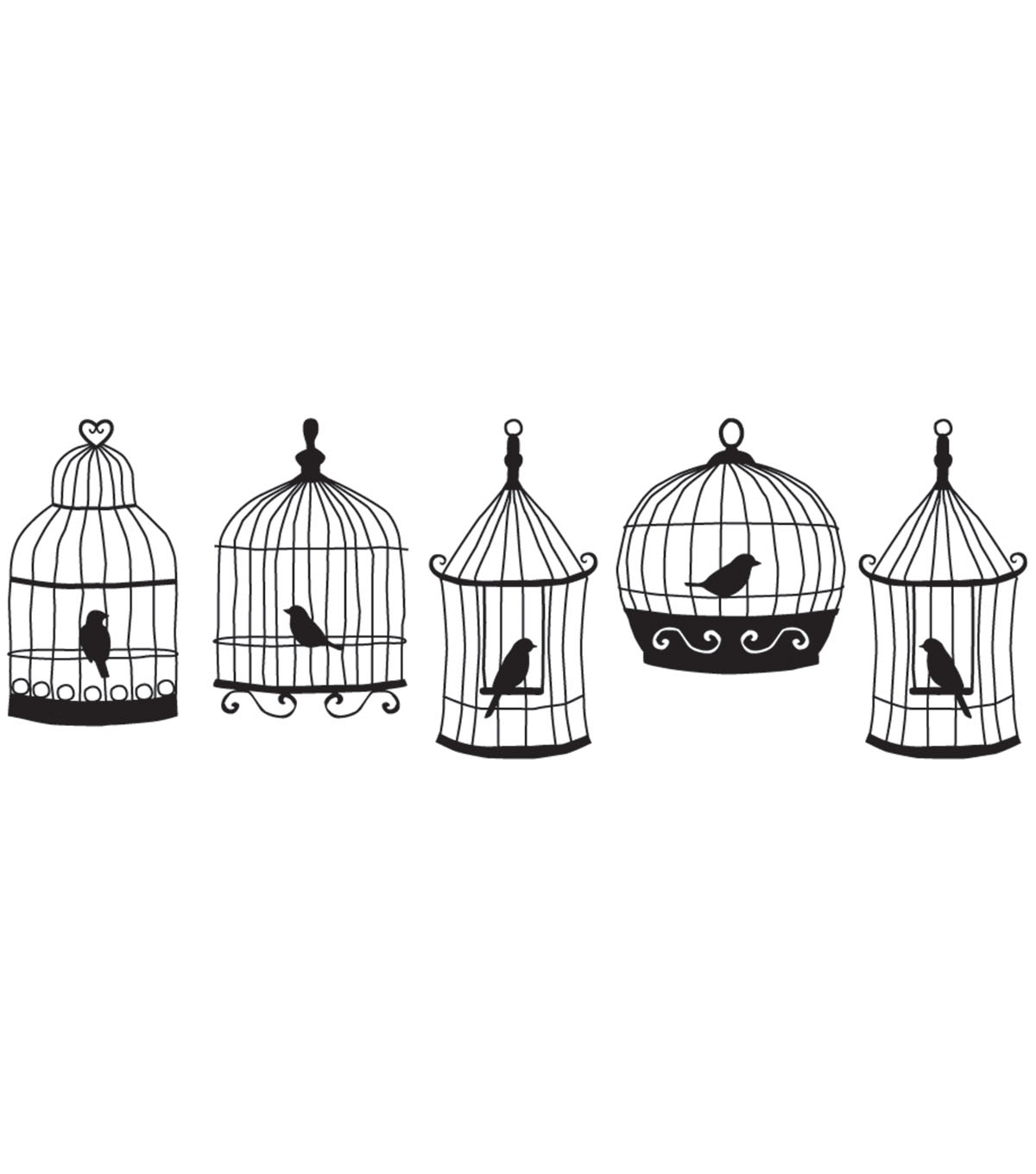 Decoration Stamp Roller Cartridge-Birdcages