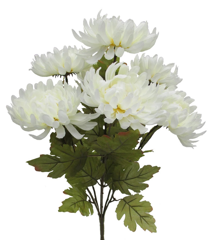Blooming Autumn 20 Mum Bush White Joann