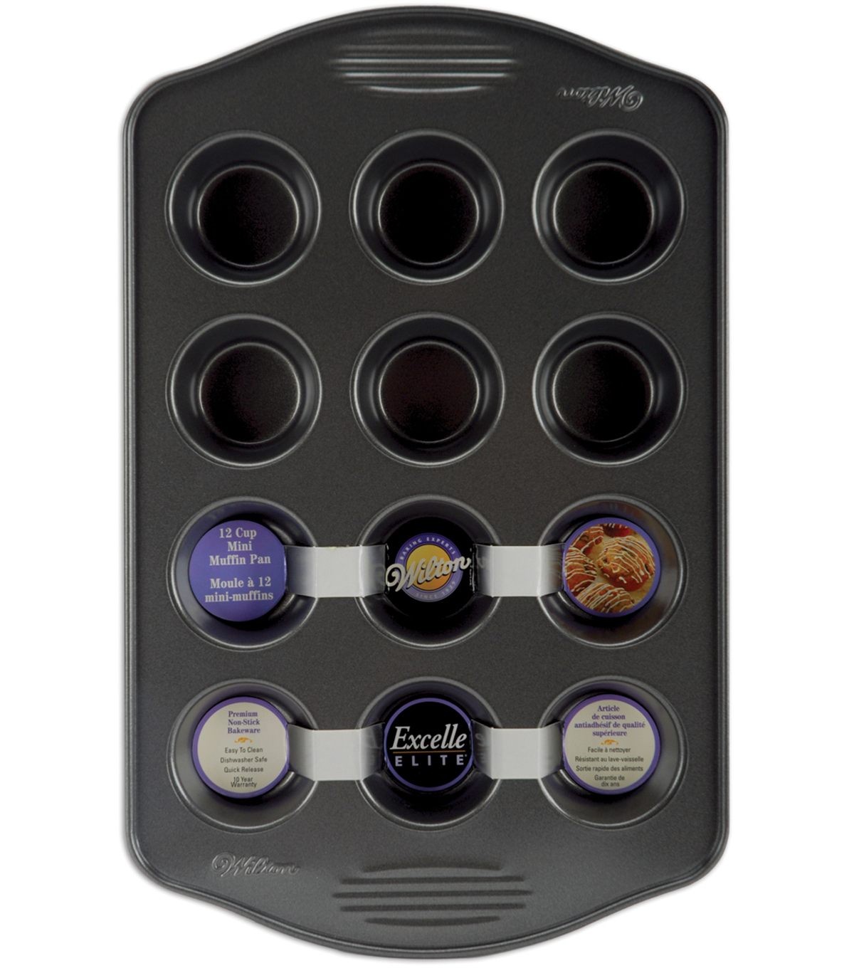 Wilton Excelle Elite Mini Muffin Pan 2\u0022X.75\u0022