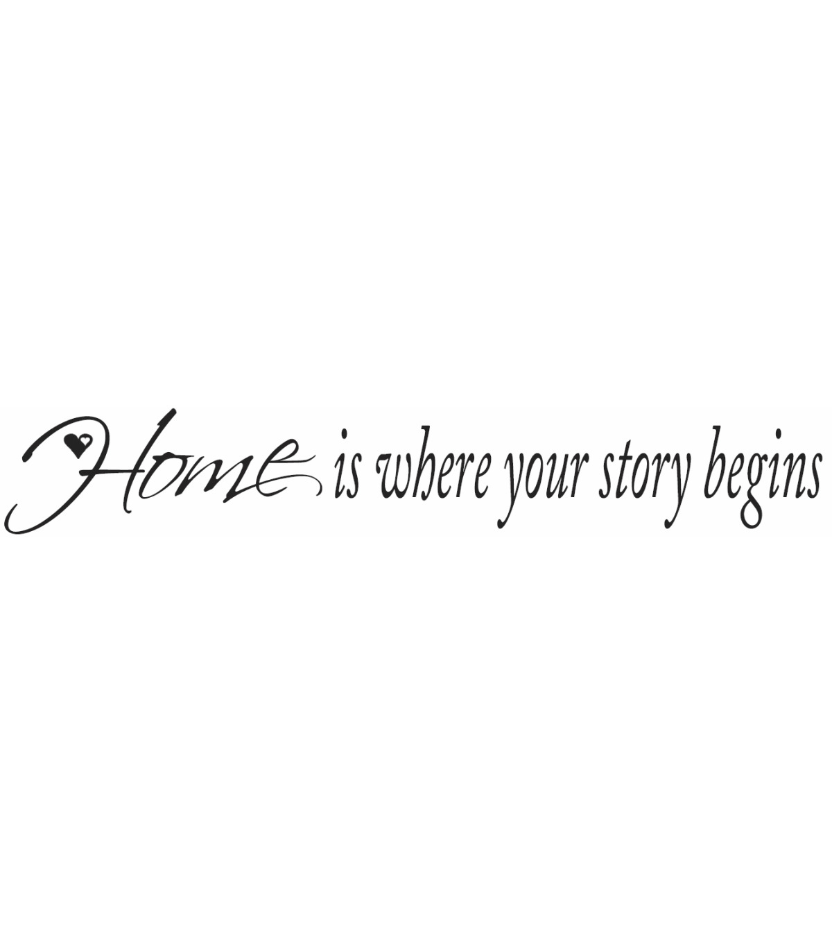 York Wallcoverings Peel & Stick Wall Decals-Home is Where Your Story