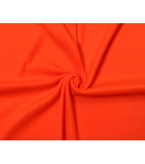 Blizzard Fleece Fabric -Solids, Red Orange