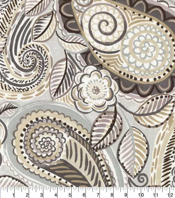 Waverly Upholstery Decor Fabric-Mayan Market Mineral
