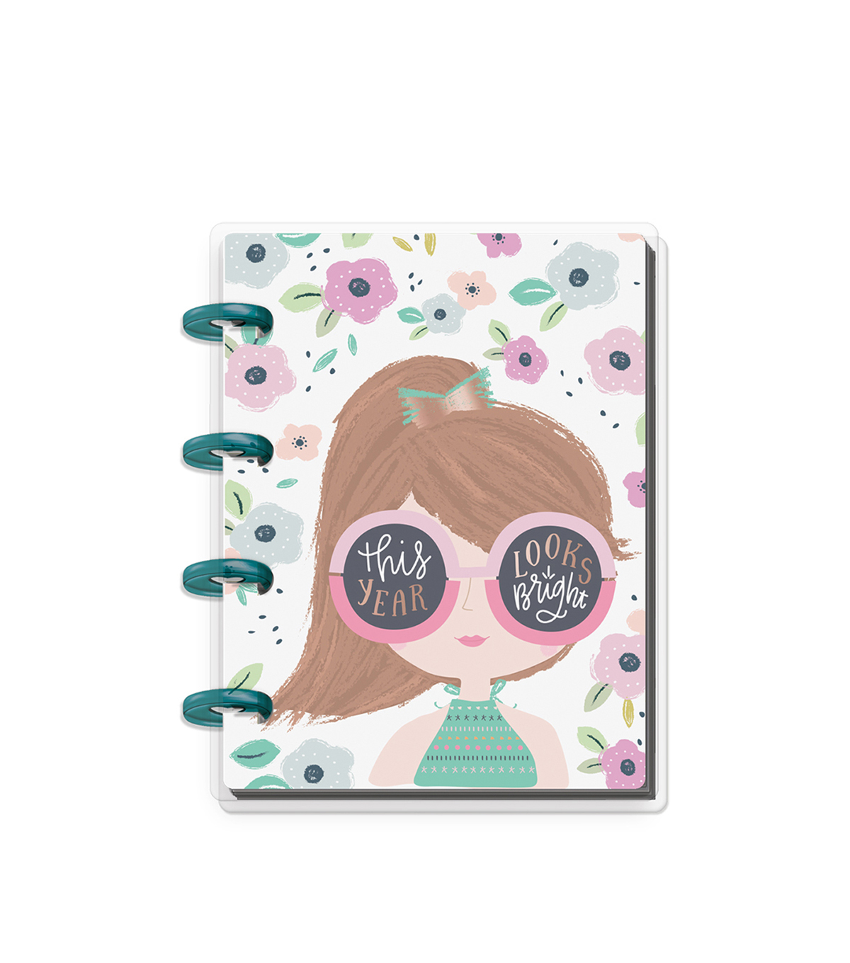 The Happy Planner Happy Notes 60-sheet Micro Notebook-Squad