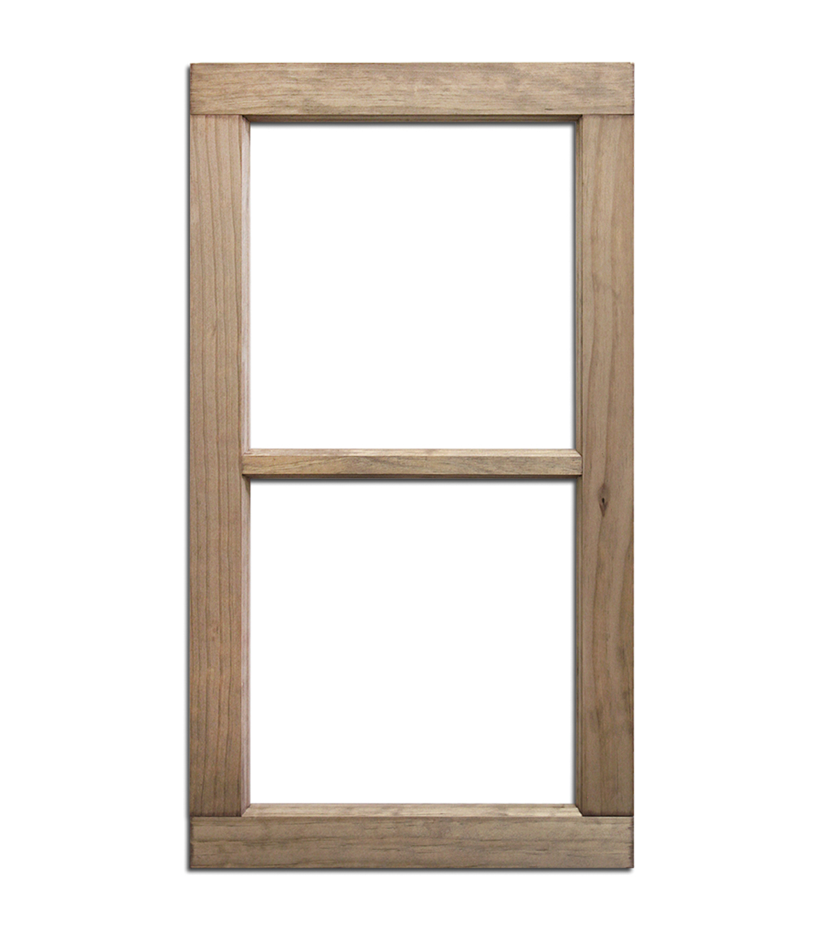 Merveilleux Salvaged 2 Pane Weathered Wood Window Frame