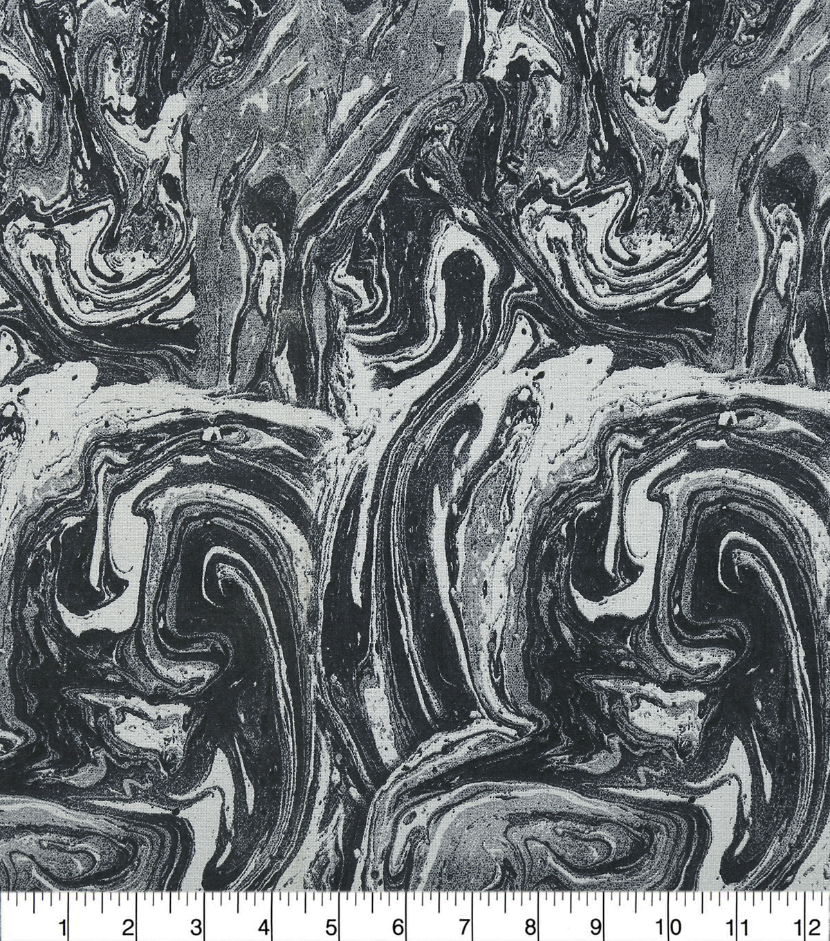 Keepsake Calico Cotton Fabric 108\u0027\u0027-Gray Oil Slick