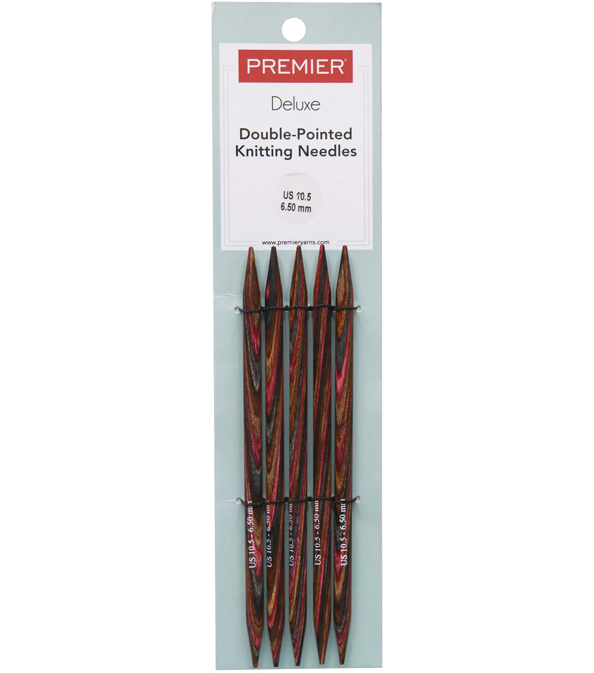 Premier Yarns Double Pointed Needles 6\u0022-Size 10.5/6.5mm