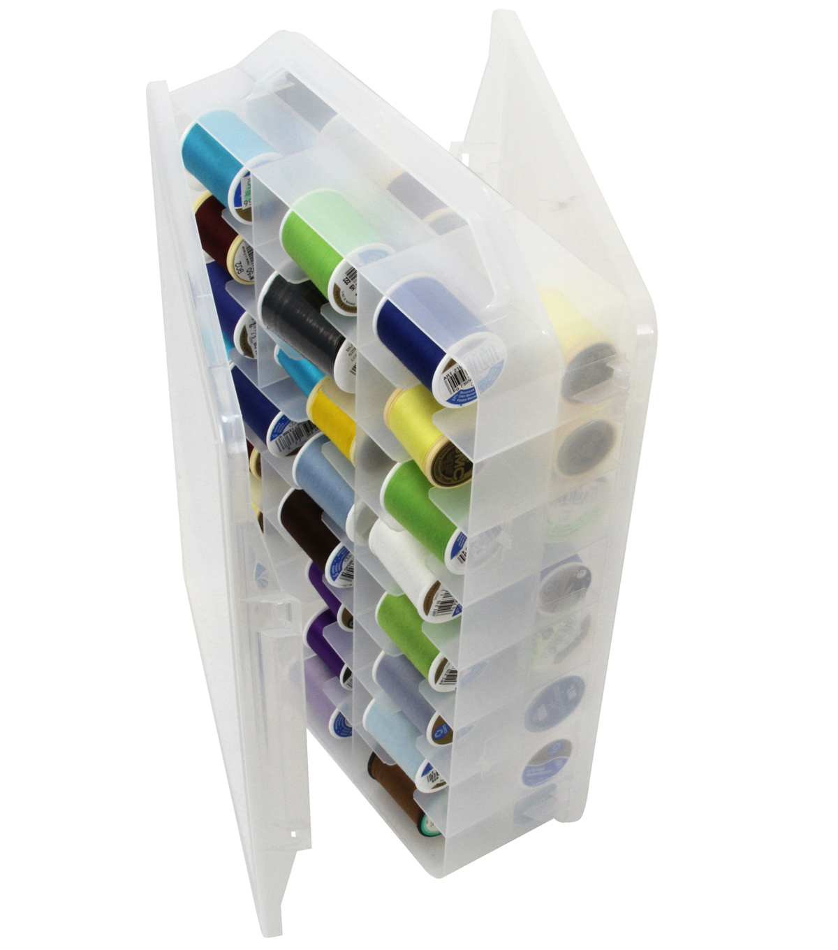 Creative Options Plastic Thread Organizer Clear