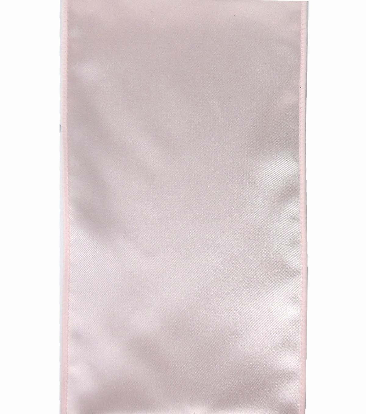 Save the Date 4\u0022 x 15ft Ribbon-Blush Satin