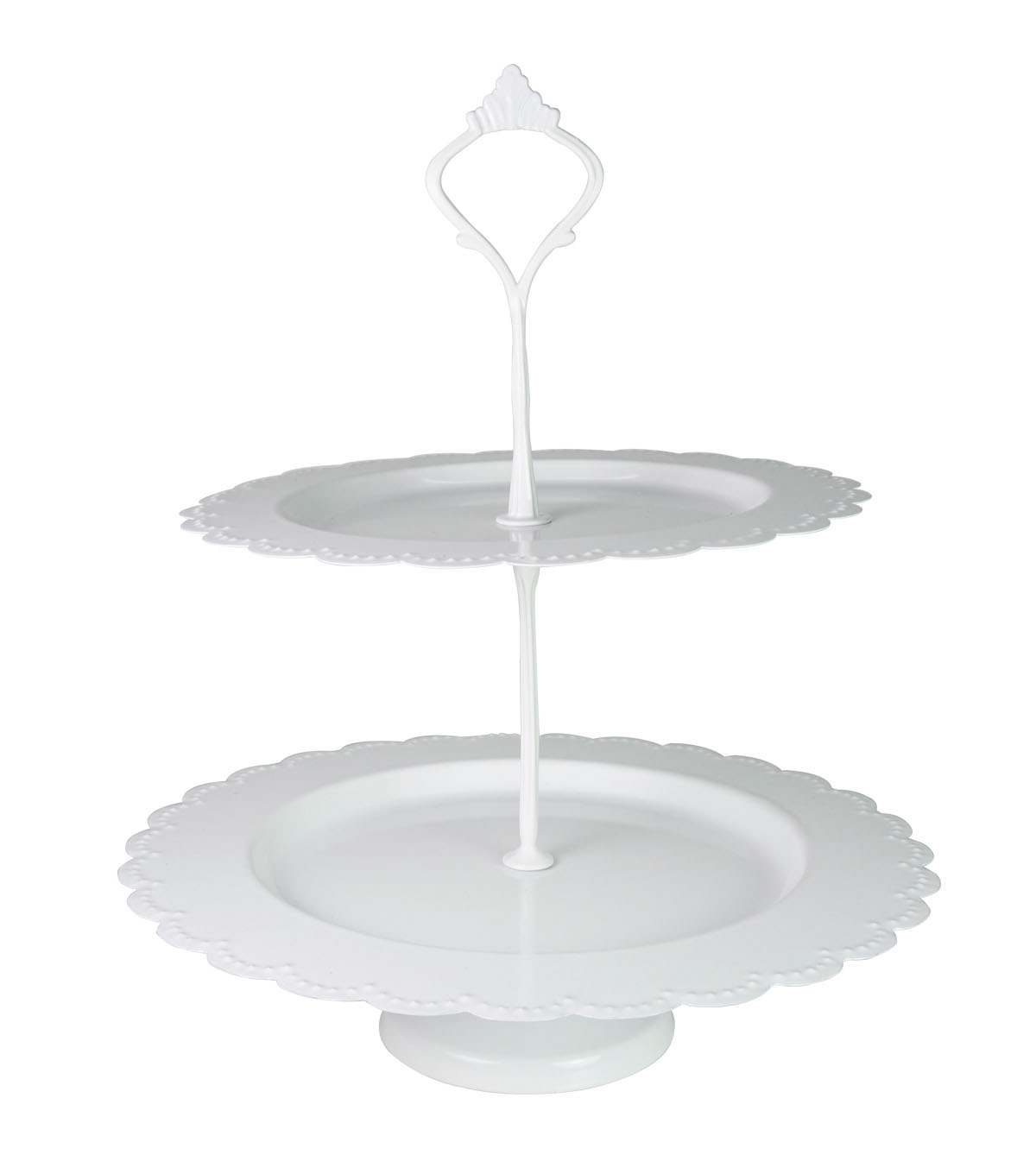 Save the Date 2 Tier Cake Stand