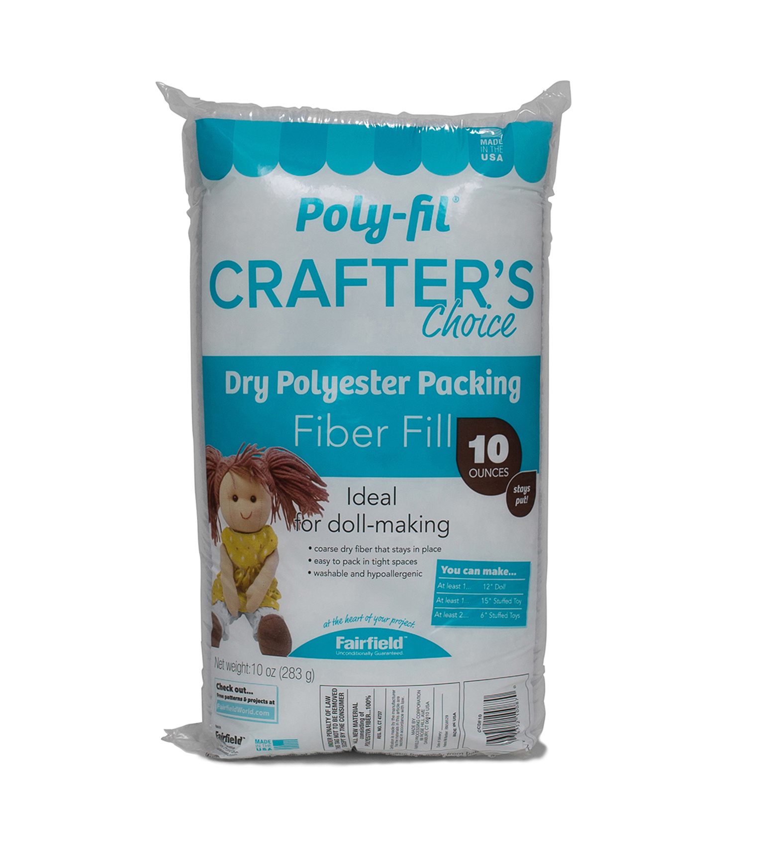 10 Oz Crafters Choice Dry Fiber