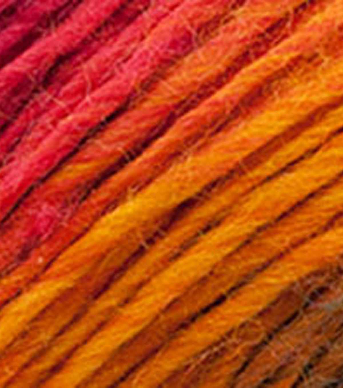 Red Heart Boutique Unforgettable Yarn, Sunrise
