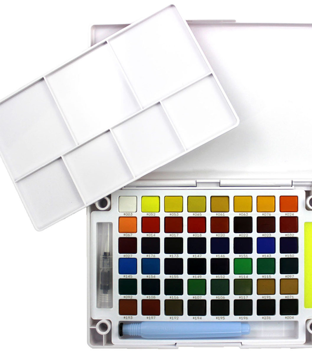 Koi Watercolor Pocket Field Sketch Box-48 Colors-Assorted Colors