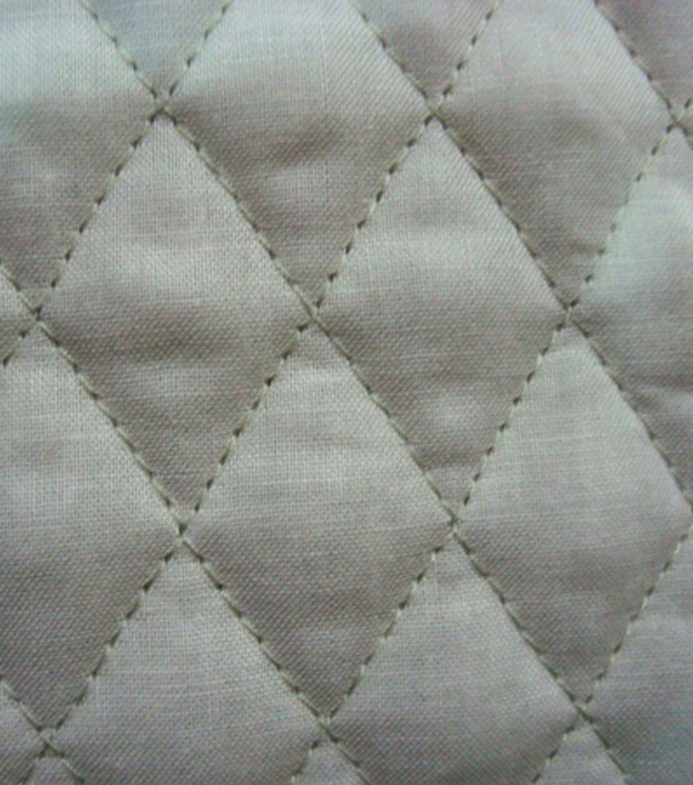 Double Faced Pre-Quilted Cotton Fabric -Diamond Solids, Sage Green