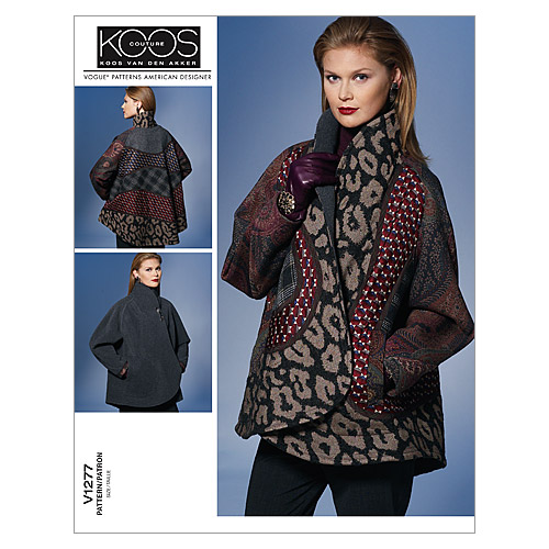 Vogue Patterns Misses Outerwear-V1277