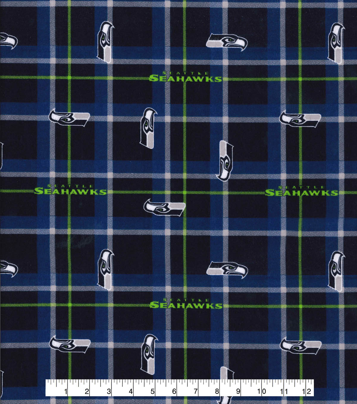 NFL Seattle Seahawks Plaid Flannel