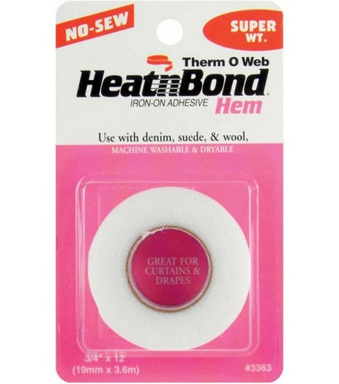 Heat\u0027n Bond Iron-On Adhesive Hem