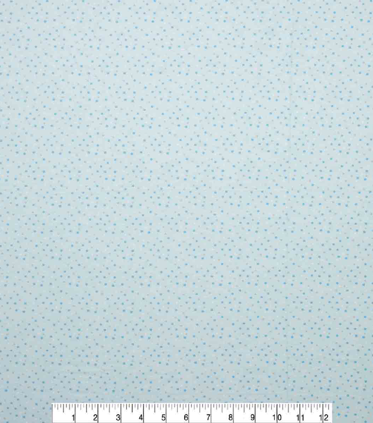 Super Snuggle Flannel Fabric-Blue & Grey Dot
