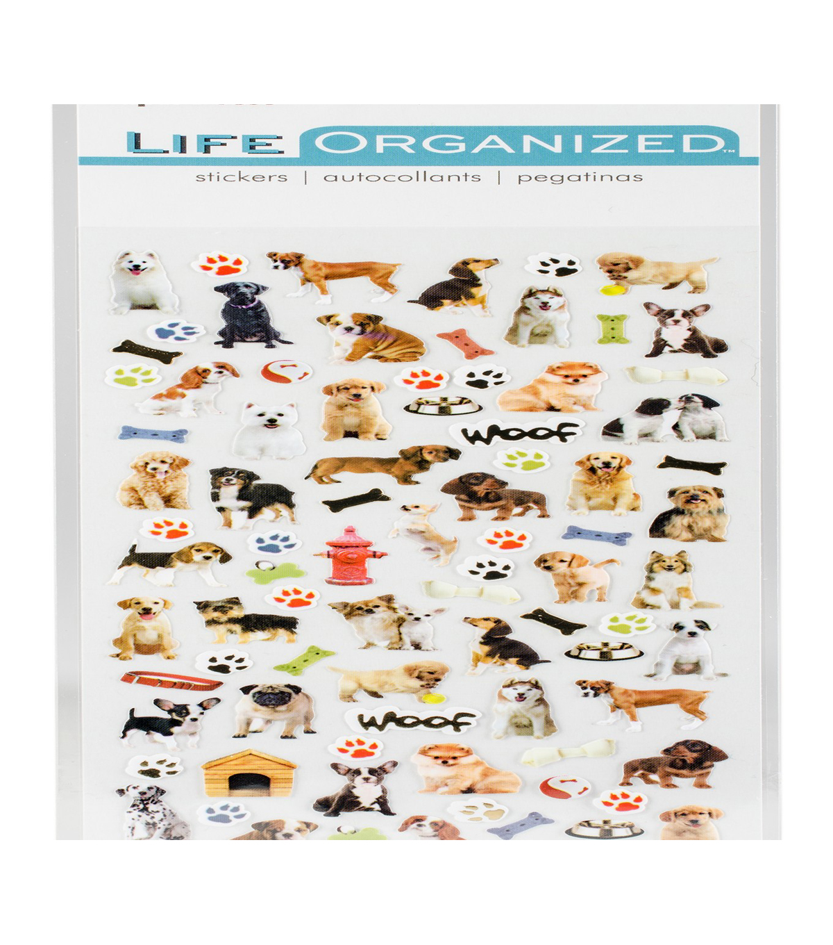 Life Organized 176 pk Micro Stickers-Dogs