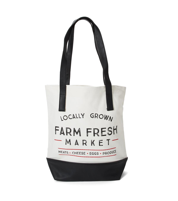 22a3e18ca2ad Canvas Tote Bag-Farm Fresh