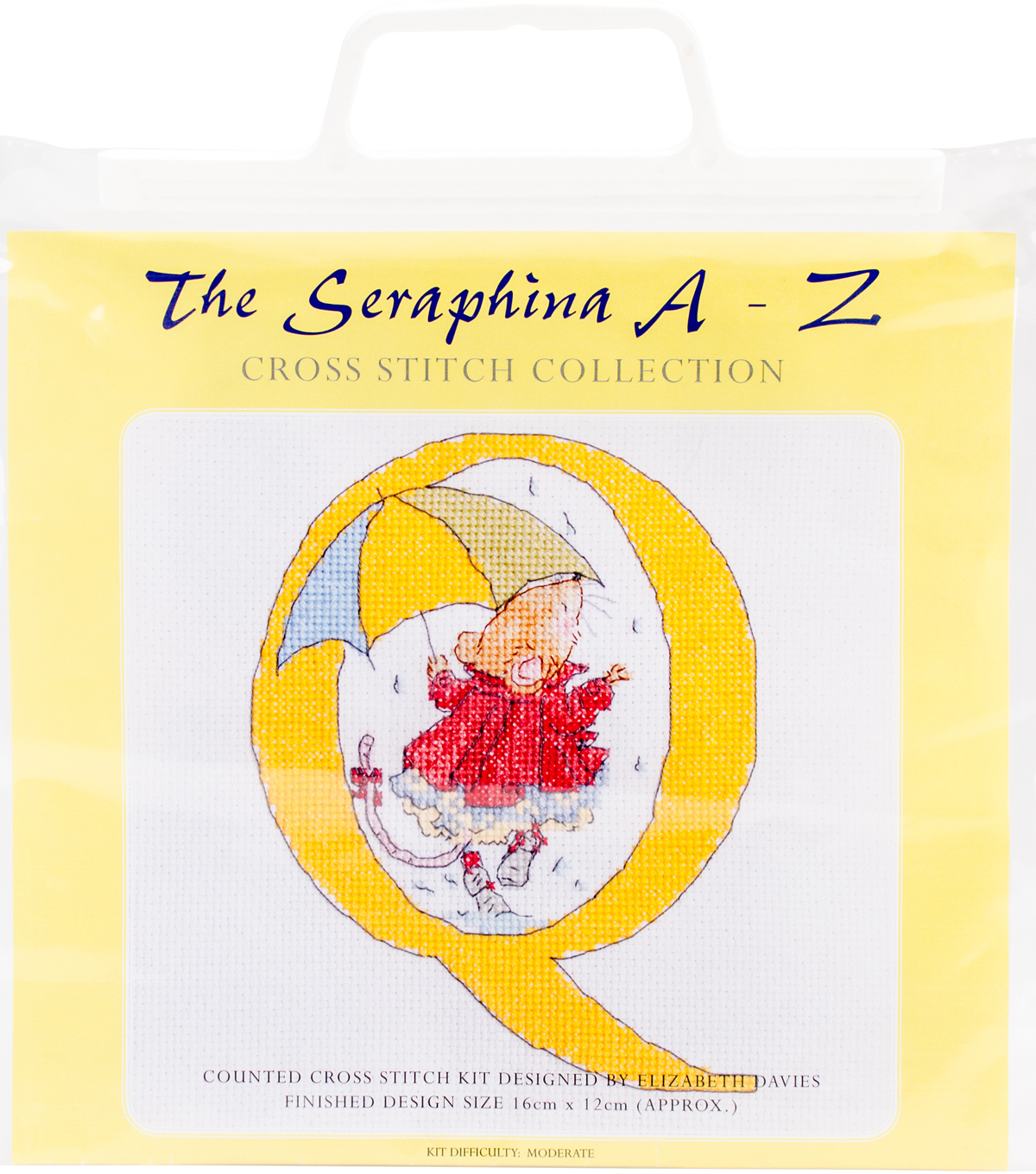 CWOC/Seraphina Counted Cross Stitch Kit 6.25\u0022X4.75\u0022-Q