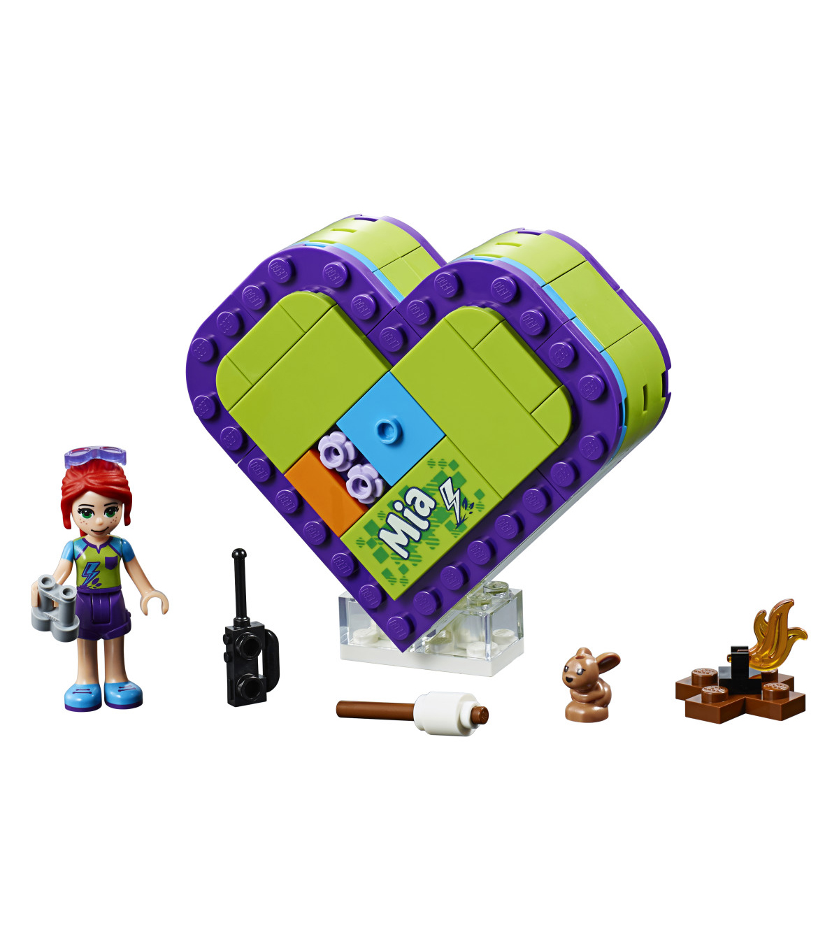 LEGO Friends Mia\u0027s Heart Box 41358