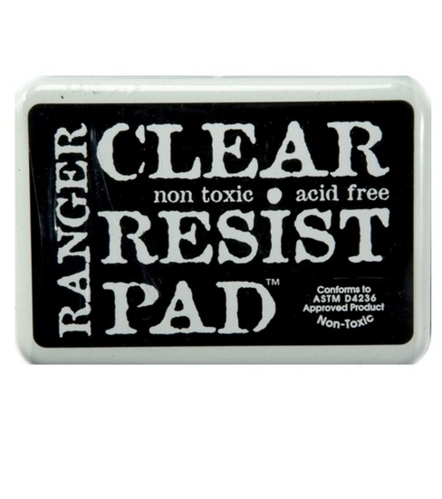 Ranger Clear Resist Stamp Pad #0 Pad