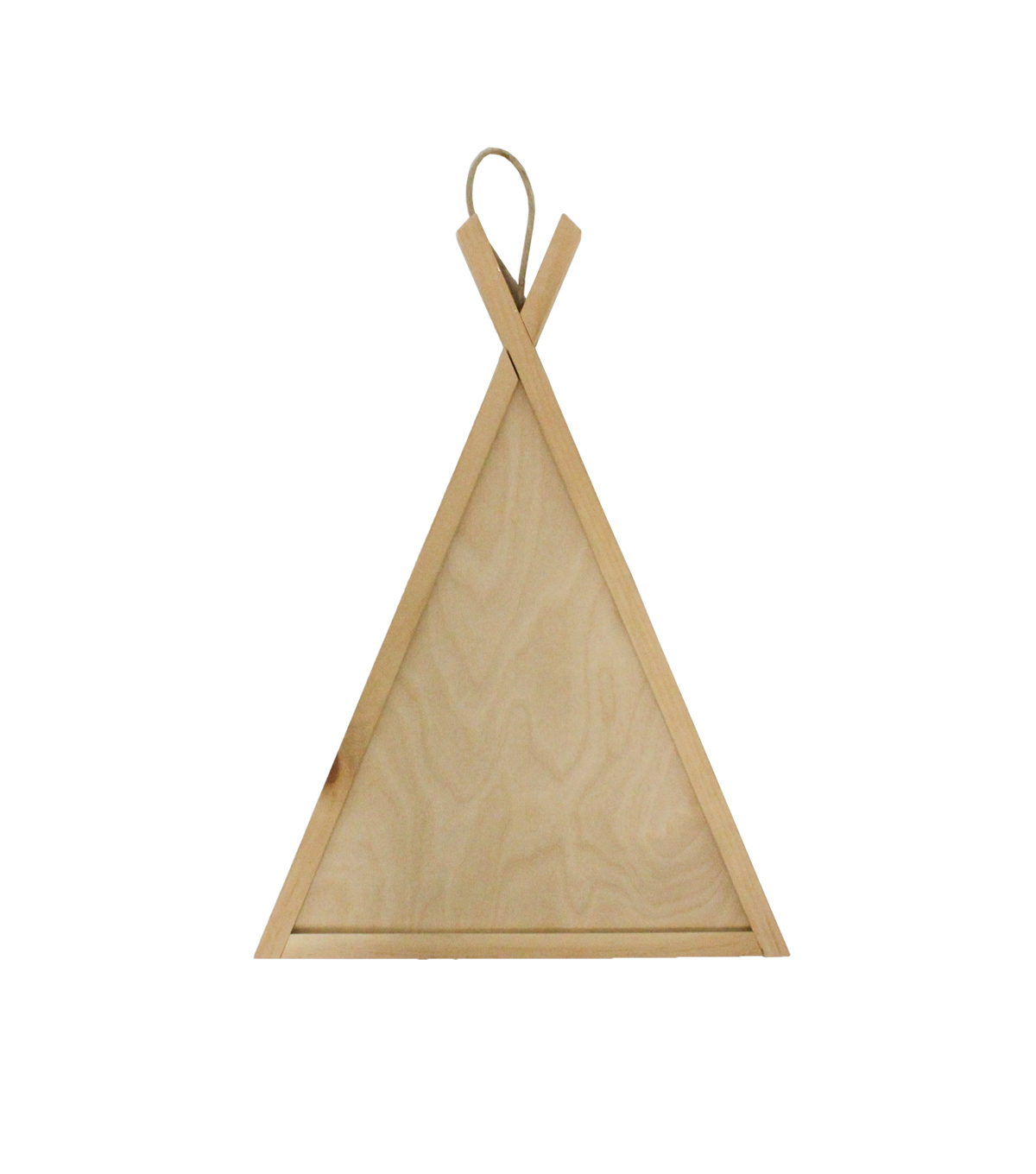 Unfinished Wood Surface-Teepee