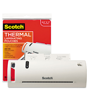 Scotch Thermal Laminator Value Pack