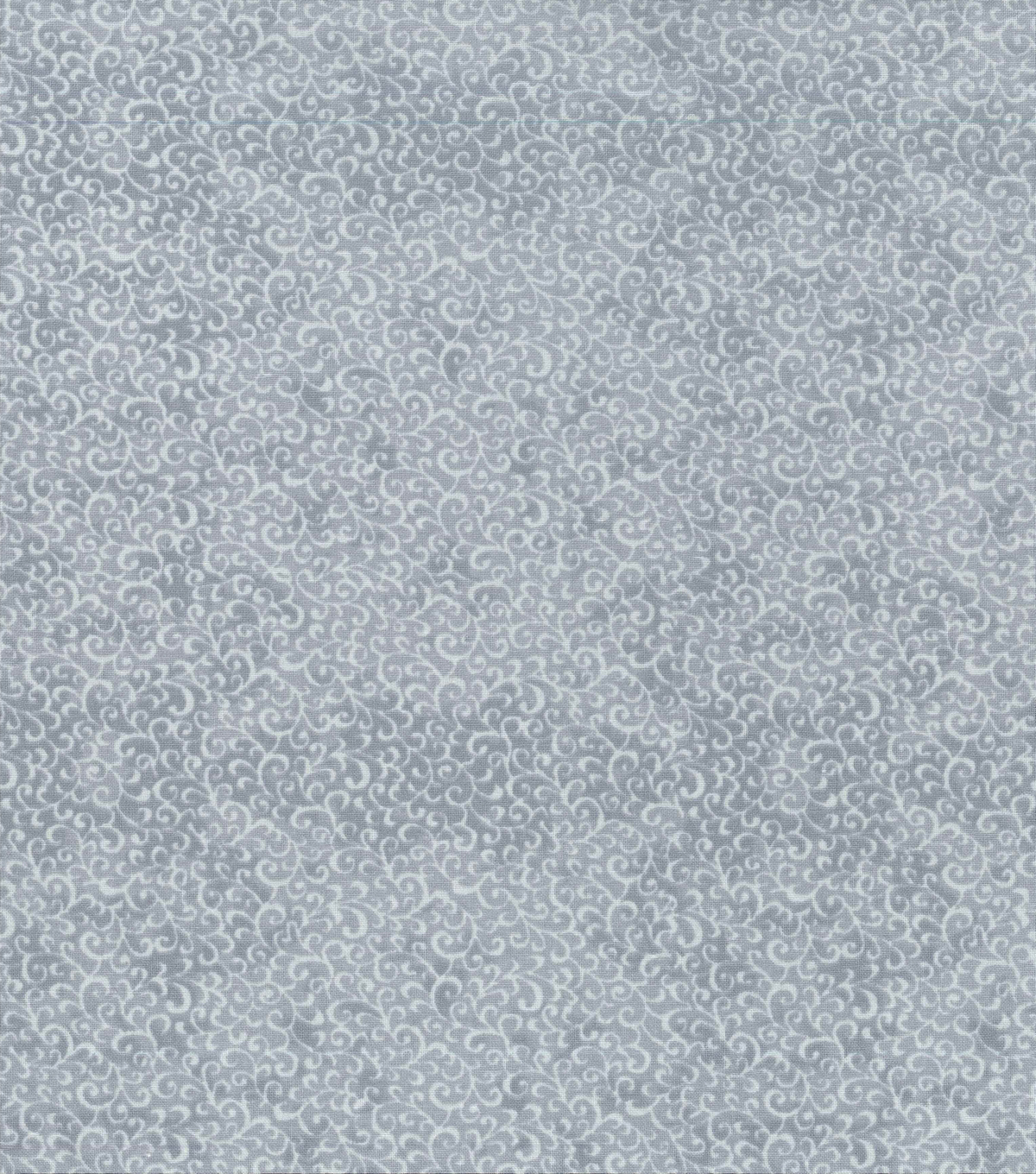 Keepsake Calico Cotton Fabric -Scroll on Light Gray