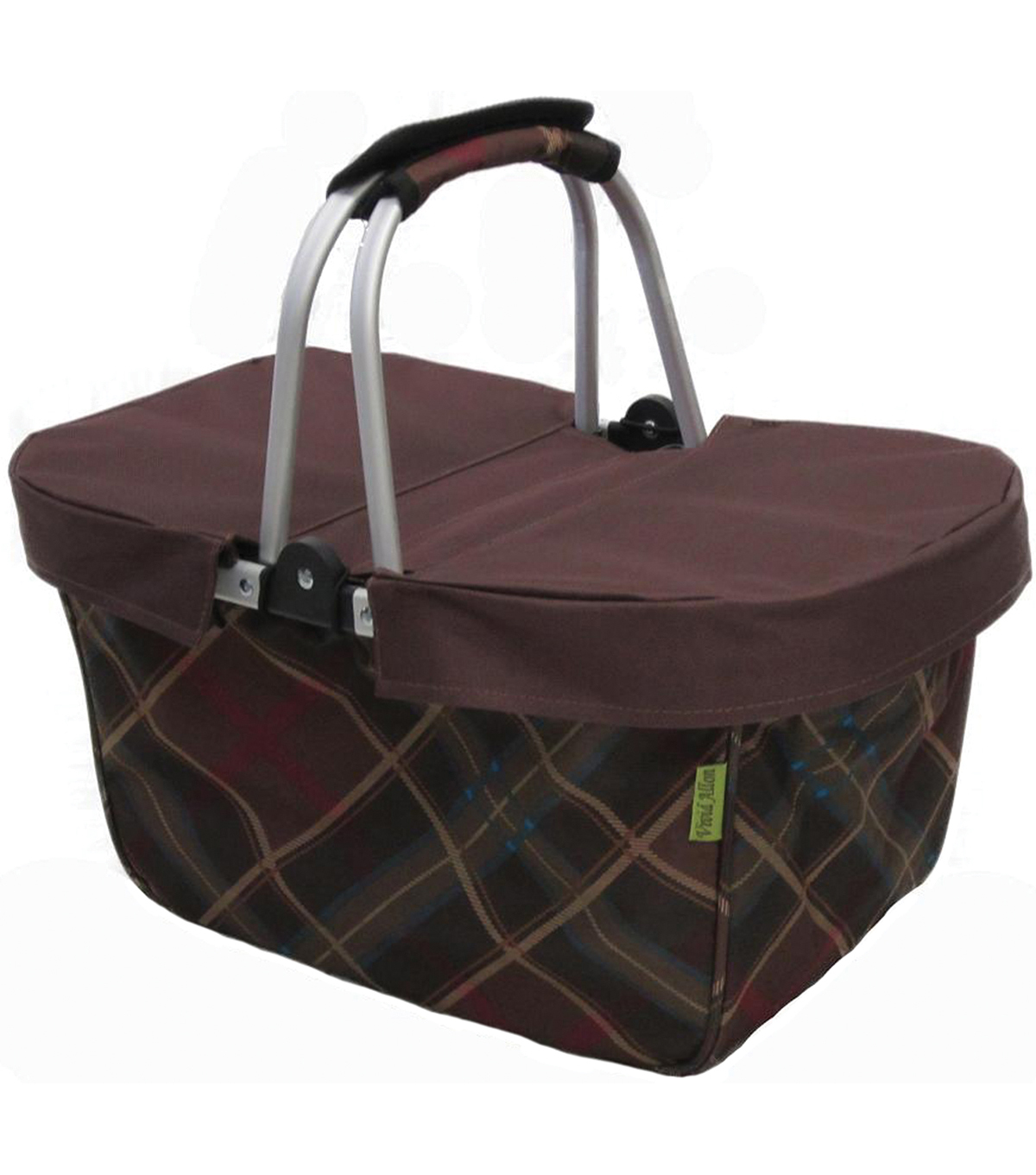 JanetBasket Large Basket Cover-Brown