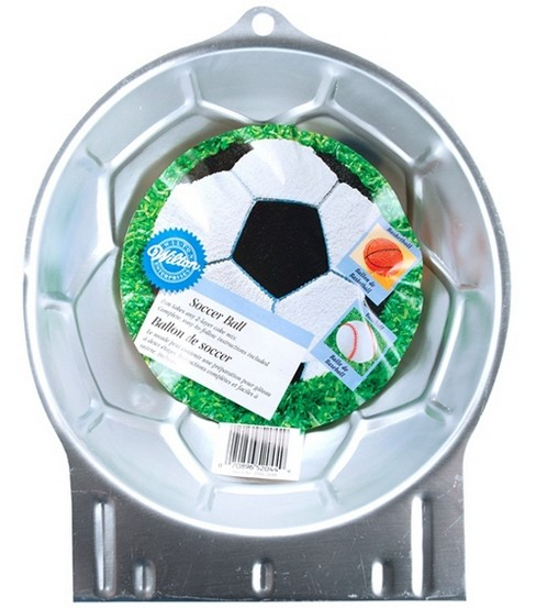 Wilton Cake Pans Novelty Soccer Ball